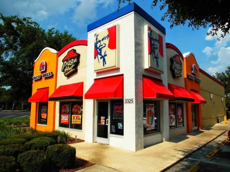 pizza hut taco bell kfc