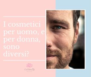 cosmetici per uomo