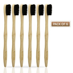 Bamboo Toothbrush (Pack of 6)