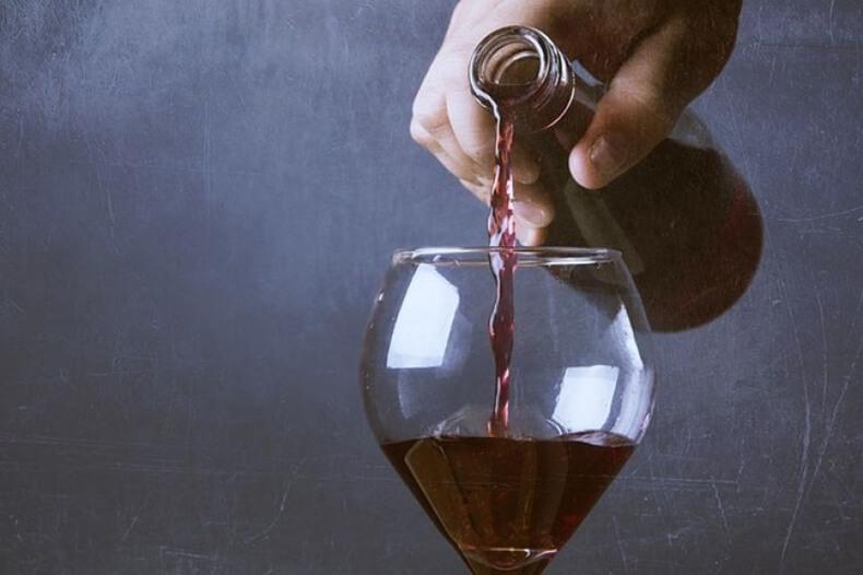 Диета вечной молодости_красное вино