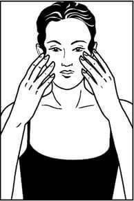 массаж для лица