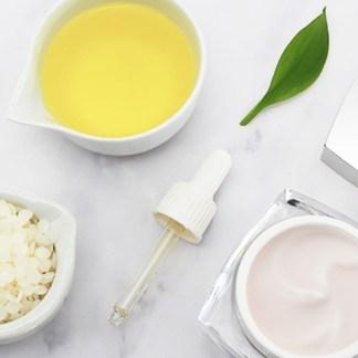 Crema facial y corporal con aceite de almendras