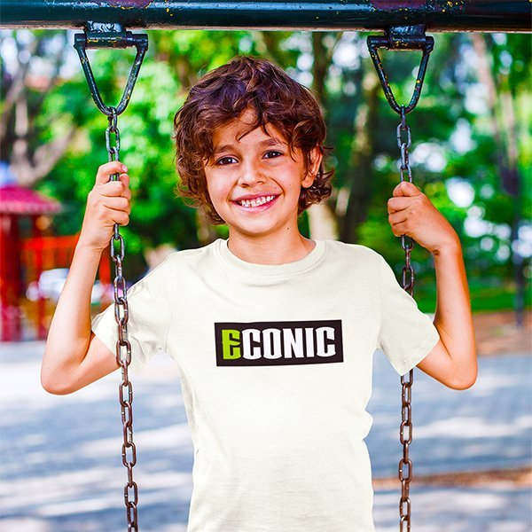 boy-playing-on-a-swing-in-ECONIC-eco-active-T-shirt
