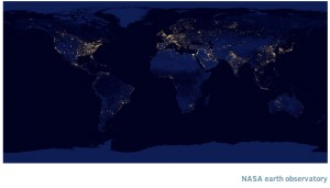 Productivity and City lights from Africa, Europe and Middle East