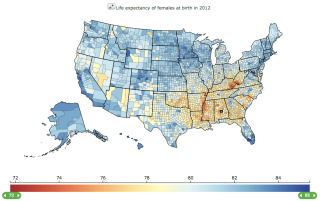 Life Expectancy U.S. females