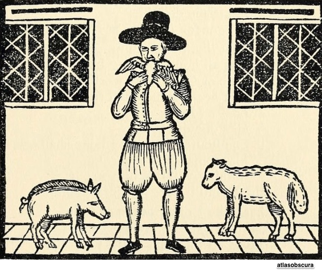 competitive eating 16th century