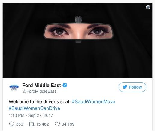 Saudi female drivers