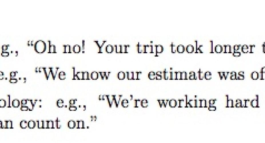 apology economics