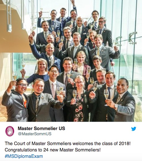master sommeliers