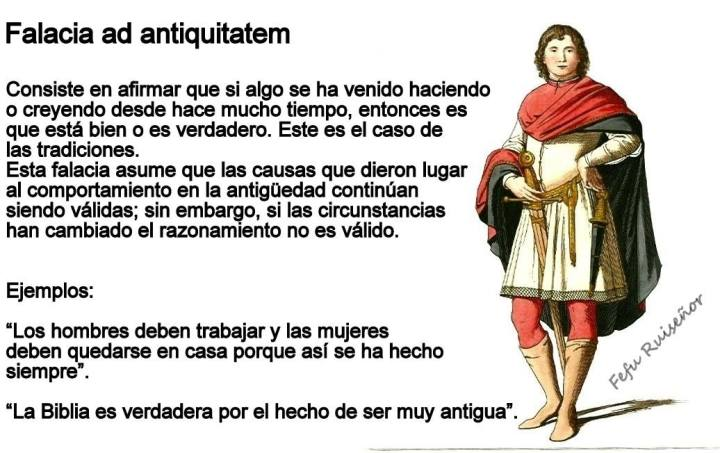 Falacia ad antiquitatem