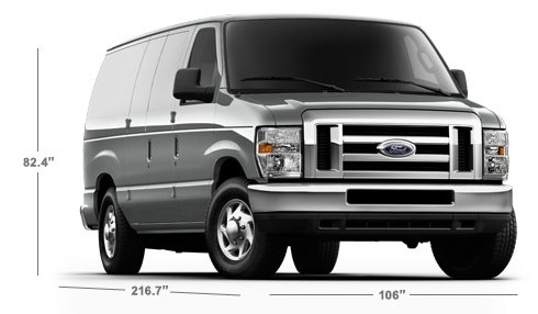 ford e 150 interior dimensions. Black Bedroom Furniture Sets. Home Design Ideas