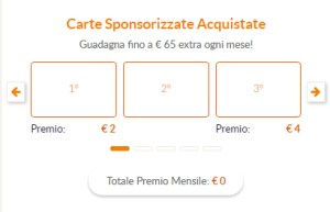 carte sponsorizzate su sixthcontinent