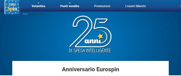 concorso 25 anni eurospin