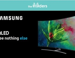 prova il nuovo tv samsung con the insiders