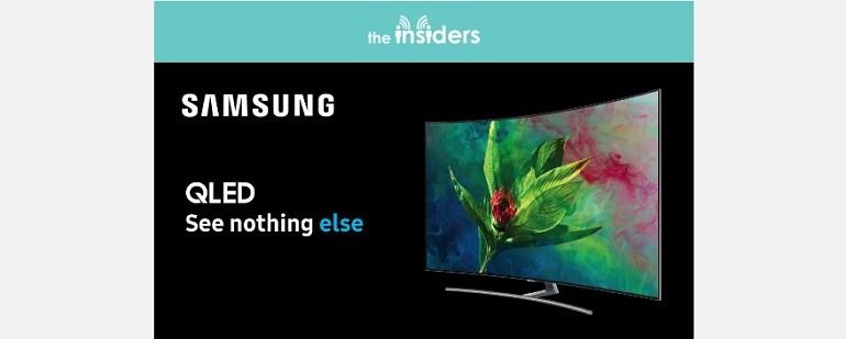 prova il nuovo tv samsung con the insiders