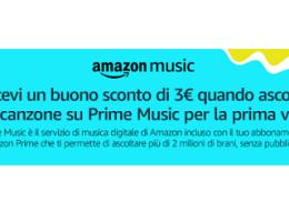 promozione amazon music