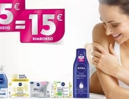 nivea spendi 15 ricevi il rimborso di 15 euro