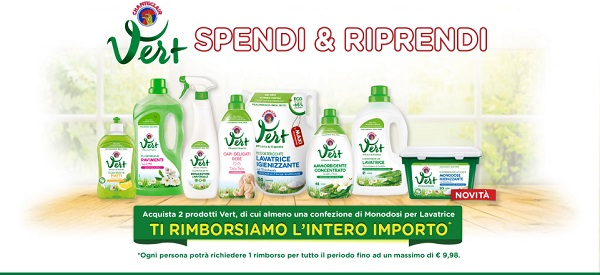 prova gratis chanteclair vert con spendi e riprendi