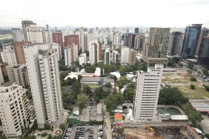 Vista da região do Itaim
