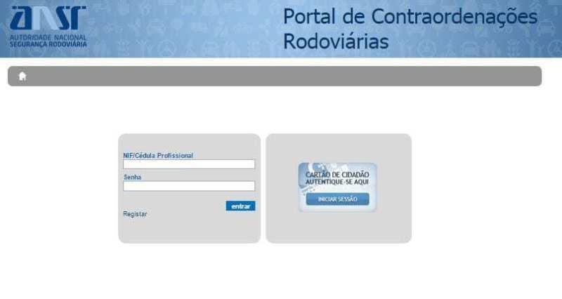 Portal das Contraordenações Rodoviárias