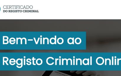 Conhece o Portal do Certificado do Registo Criminal Online?