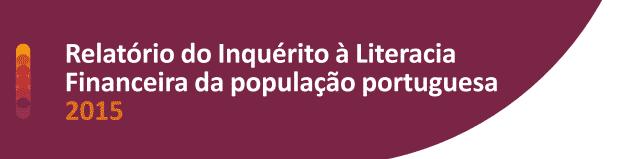 Inquérito à Literacia Financeira 2015