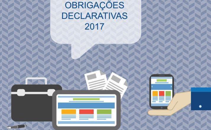 Agenda Fiscal 2017 - Obrigações Declarativas
