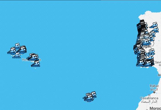 Praias Bandeira Azul 2017
