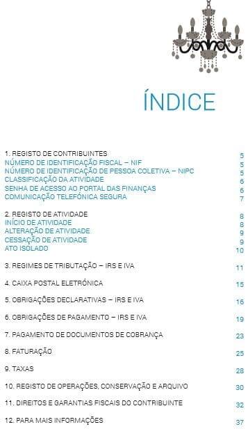 Guia Oficial das Finanças sobre Alojamento Local - 2017