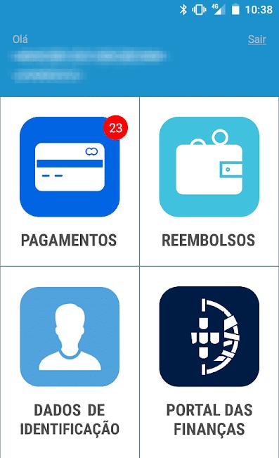 App Situação Fiscal - Pagamentos