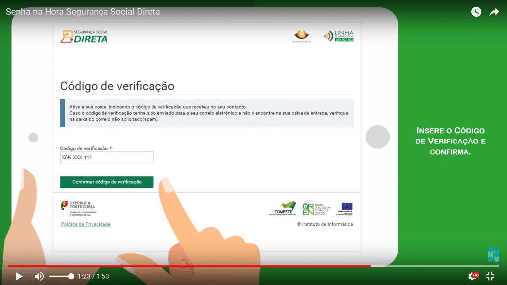 Introduzir validação Segurança Social