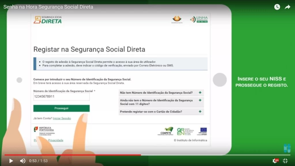 Prosseguir Segurança Social