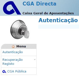 CGA Direta - Simulador de Pensões para a Caixa Geral de Aposentações