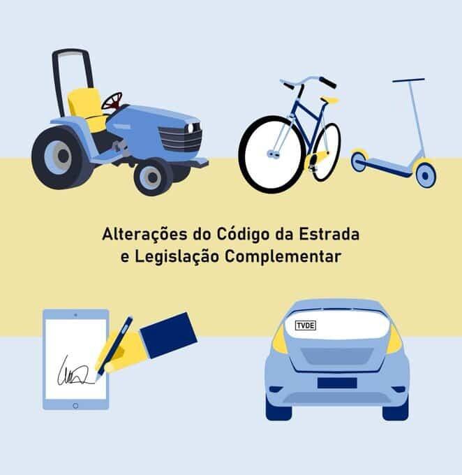 Novo Código da Estrada – Versão de 2021
