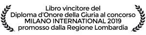 diploma d'onore della giuria al concorso Milano International 2019 al libro di economia spiegata facile