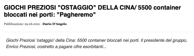 Бум ВВП по данным Il Fatto Quotidiano