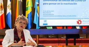 Economía en Latinoamérica puede caer hasta 8 % por COVID-19 según la CEPAL