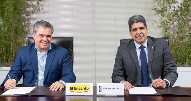 Asociación Cibao y Almacenes El Encanto emitirán tarjeta de crédito