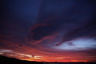 Sunrise, Blue Ridge Parkway