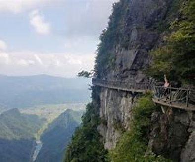 Resultado de imagen de montaña tianmen