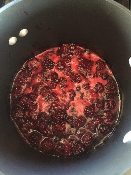 Homemade Pop Tarts Blackberries Cooking