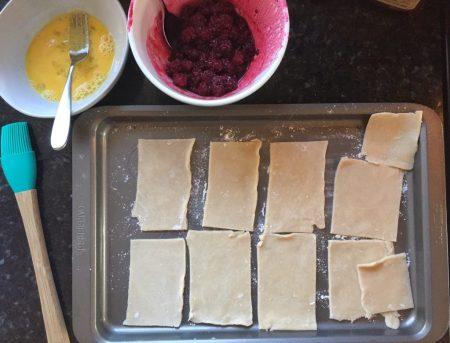 Filling Homemade Pop Tarts