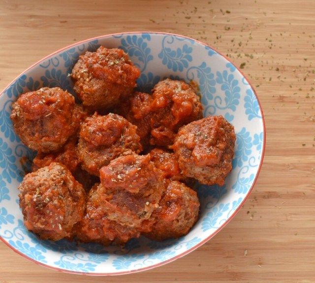 Grass Fed Beef and Quinoa Meatballs