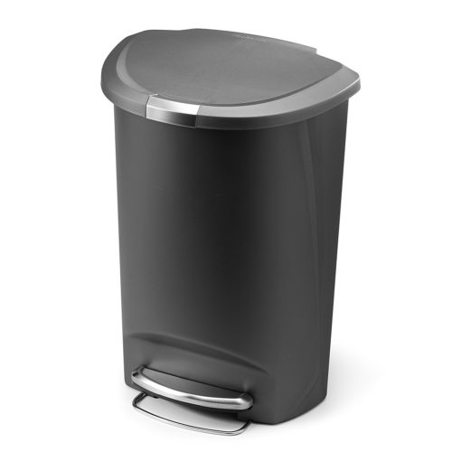 Exceptionnel 11. Simplehuman Semi Round Step Trash Can