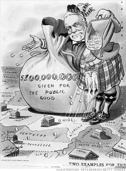 Image result for andrew carnegie and cartoons
