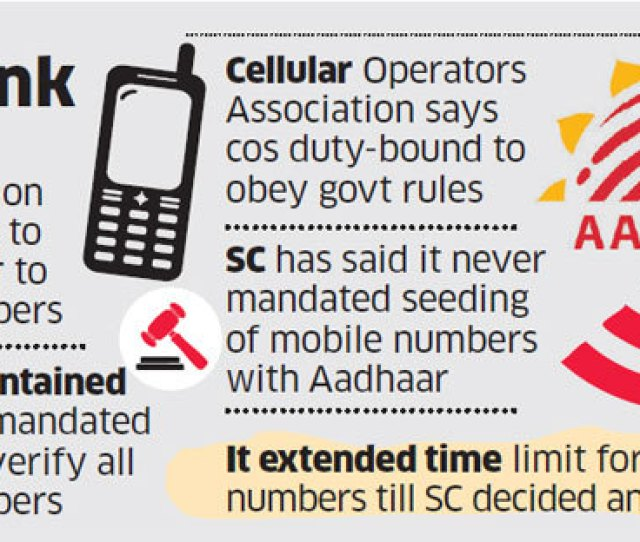Our Member Operators Have Been Consistently Following The Direction Issue By Their Licensor In So Far As The Aadhaar Based E Kyc Is Concerned It Added