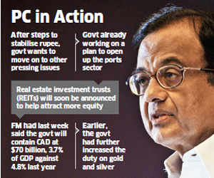 Finance Minister P Chidambaram seeks 10-point action plan to revive economy