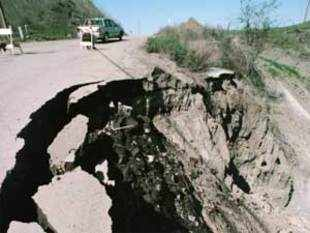 In Picture: Earthquake Fault.