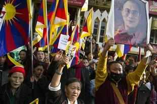 China slams Dalai Lama; Tibetan self-immolates