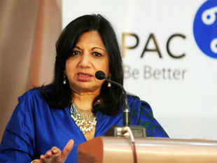 """""""We have focused on creating key growth drivers and have structured the company along those growth drivers,"""" says Kiran Mazumdar Shaw. (BCCL)"""